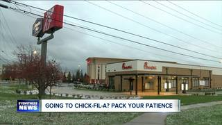Traffic tips for Chick-Fil-A