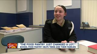 School food pantry helps teens and families