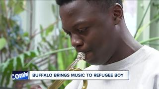 Buffalo steps up to keep music alive for refugee