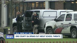Erie County DA speaks out about school violence