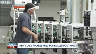 New class aims to meet need for high demand jobs