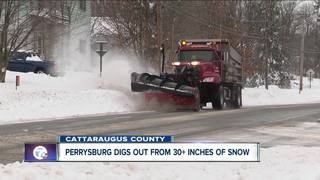 Storm dumps 30 inches of snow on parts of WNY