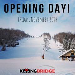 Kissing Bridge opens for the season