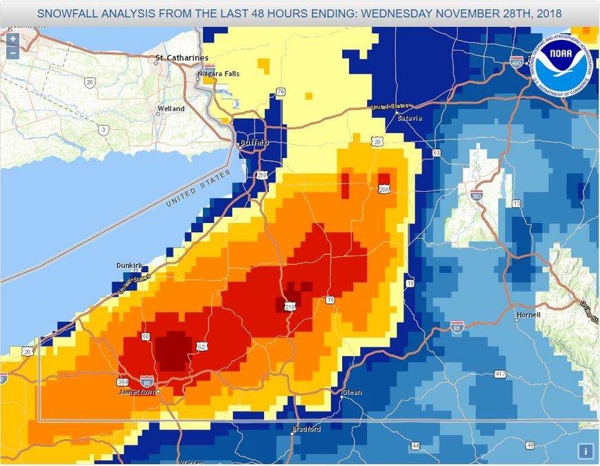 How Much Snow Fell In Your Area Find Out Here And Why