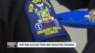 Ambulance company tries out new recruiting tool