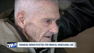 New trouble for man evicted over medical pot use